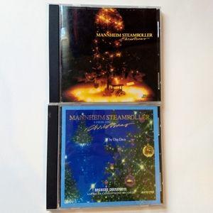 Mannheim Steamroller Christmas Music CD Bundle